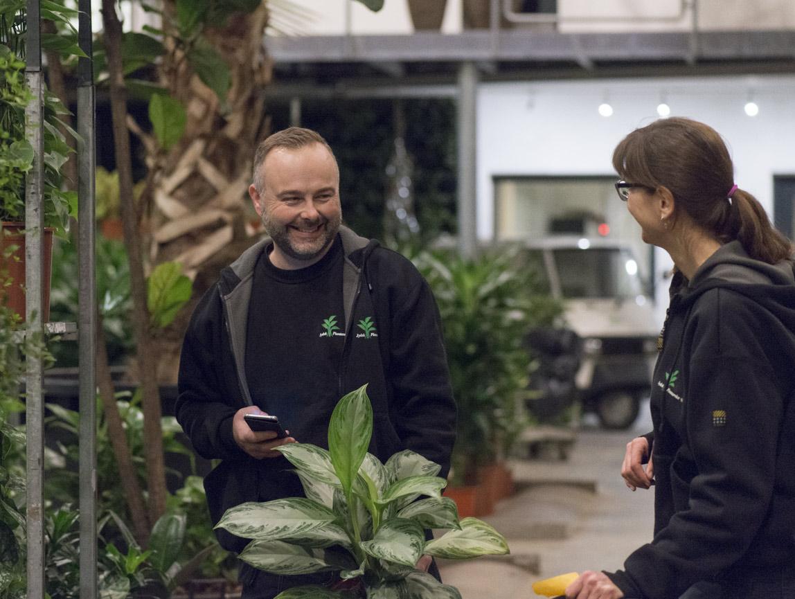 Planteservice medarbejdere