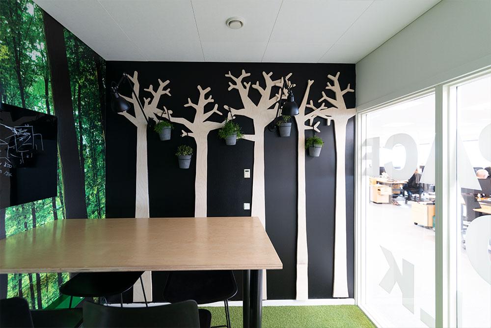 planter på væggen, ampler, Ole Larsen