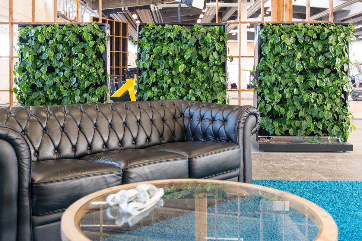 Mobile Plantevægge, frisk luft