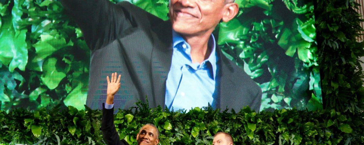 Obama i Kolding, Obama plantevæg
