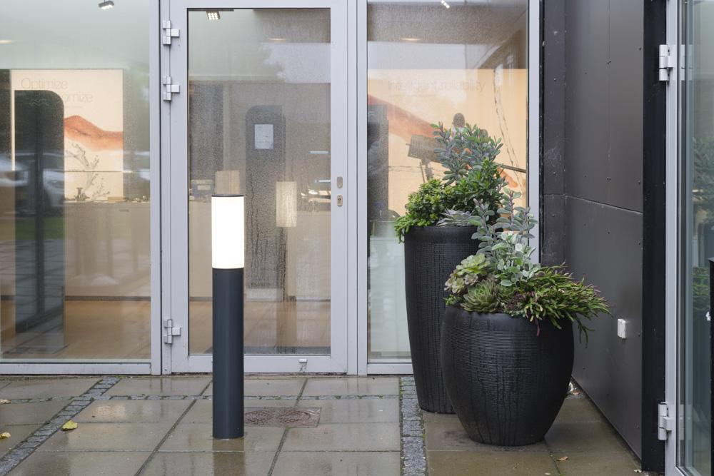 Alfa Laval, Udekrukker, planter til indgang,