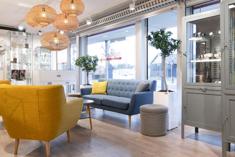 Sofa, indretning, Planter,