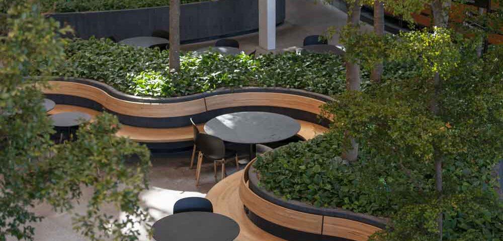Planter, Copenhagen Towers, sorte oliven,