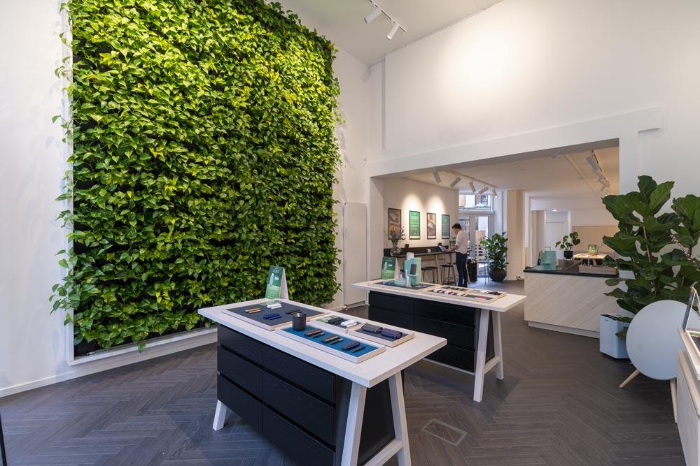 Grøn plantevæg, planteservice bornholm