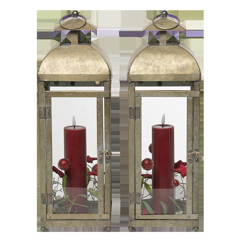 Juledekorationer, lanterner,